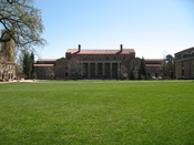 Norlin Library at the University of Colorado at Boulder campus.