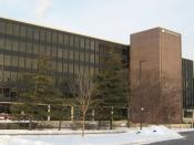 English: Rand McNally's new corporate headquarters in Skokie, Illinois.