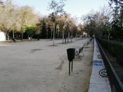 Parque de Maria Eva Duarte de Peron, Madrid, Spain.