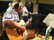 Brother Noland recording session