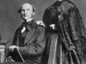 English: The philosopher John Stuart Mill and Helen Taylor , daughter of Harriet Taylor. Español: El filósofo John Stuart Mill y su compañera Harriet Taylor. c 1835