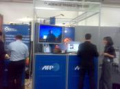 AFP stand at Barcelona GSMA 2008