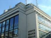 Parisian headquarters of Agence France-Presse
