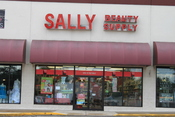 English: Sally Beauty Supply store, 2417 Ellsworth Road, Ypsilanti Township, Michigan