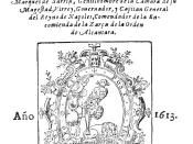 English: Title page of Miguel de Cervantes Novelas Exemplares (1613)
