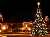 English: The Carol of Lights at Texas Tech University in Lubbock, Texas.