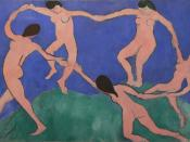 Henri Matisse, The Dance I, 1909, Museum of Modern Art. One of the cornerstones of 20th century modern art.