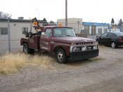 English: 1966 Mercury M-350 Tow Truck, Canada only model variant of the Ford F-350