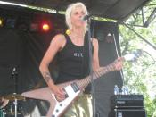 Sarah Bettens, former singer of K's Choice at the Utah Pride Festival 2006