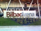 English: Bilbao Arena. Bilbao (Basque Country, EU)