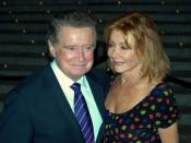 English: Regis Philbin and his wife Joy Philbin at the 2009 Tribeca Film Festival celebration hosted by Vanity Fair.