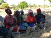 Zambian rural village. Women smallholders