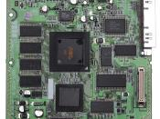English: The motherboard of a North American Sega Dreamcast.