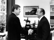 Both Ronald Reagan (left) and Strom Thurmond (right) played influential roles in the political life of BJU