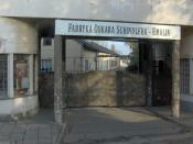 English: Oskar Schindler's enamel factory in Kraków. עברית: המפעל לייצור אמייל של אוסקר שינדלר בקרקוב.