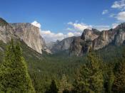 English: Yosemite valley, Yosemite National Park, California, USA. Français : Vallée de Yosemite. Parc national de Yosemite, Californie (États-Unis).