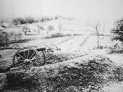 Stevens' Knoll, Gettysburg, Pennsylvania.