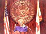 President of the Florida Senate, Gwen Margolis