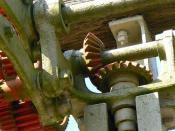 Stone cutter gears