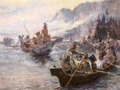 originally uploaded on en.wikipedia by User:AlexPlank at Image:Lewisclarkrussell.jpg. Filename was Lewis and clark-expedition.jpg.