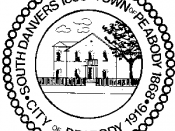 Official seal of Peabody, Massachusetts