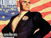 Cover to Lex 2000 #1, featuring Lex Luthor as President of the United States. Art by Glen Orbik.