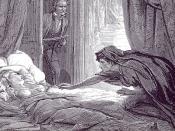 Illustration in Carmilla, Joseph Sheridan Le Fanu's vampire story.