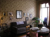 Einstein's living room in Berne, Einsteinhaus, Kramgasse