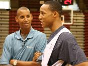 English: Reggie Miller and Evan Turner
