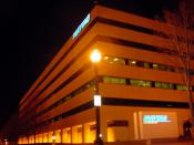 Former headquarters of the Maytag Corporation, Newton, Iowa. Sold to Iowa Telecommunications Services Inc in January 2007