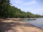 Beach of Koh Tonsay.