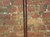 English: Antique Japanese bokken 48 inches long.