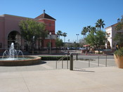 A plaza located in Rancho Santa Margarita, California.