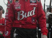 Dale Jr. at the Pepsi 400 in 2002.