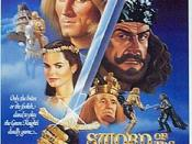 Sword of the Valiant (1984), one of two film adaptations, starring Sean Connery as the Green Knight