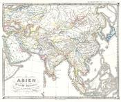 1855 Spruner Map of Asia in the 11th and 12th Centuries ( Seljuk Empire, Song China ) - Geographicus - AsienXIXII-spruner-1855