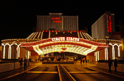 English: Circus Circus, hotel and casino located on Las Vegas (Nevada, United States) Español: Circus Circus, hotel y casino de Las Vegas (Nevada, Estados Unidos)
