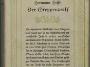 Hesse, Hermann: Der Steppenwolf. Berlin: S. Fischer 1927, 289 Seiten. Erstausgabe (Wilpert/Gühring² 155)