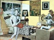 Hamilton's 1956 collage titled ''Just what is it that makes today's homes so different, so appealing?