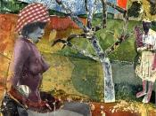 Romare Bearden, The Calabash, collage, 1970, Library of Congress