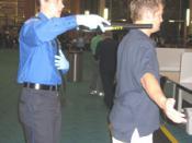 English: TSA Passenger Screening
