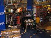 Inside the NBA Store at NYC.
