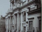 Antiguo edificio del Banco Hipotecario, actual sede del Banco Central de la República Argentina.