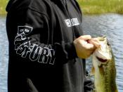 English: Largemouth Bass Fishing