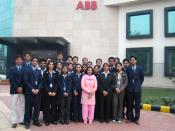 English: Members of ABB India; ABB is a Swiss-Swedish multinational corporation headquartered in Zürich, Switzerland, operating mainly in the power and automation technology areas.