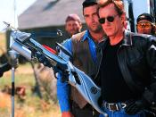 Daniel Baldwin as Montoya and James Woods as Jack Crow.