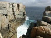 View of the Albany Gap, Western Australia