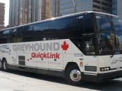 English: Greyhound Canada Quicklink service