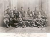 English: The 1888 Cincinnati Red Stockings.