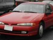 1992-1994 Mitsubishi Eclipse photographed in USA. Category:Mitsubishi Eclipse D